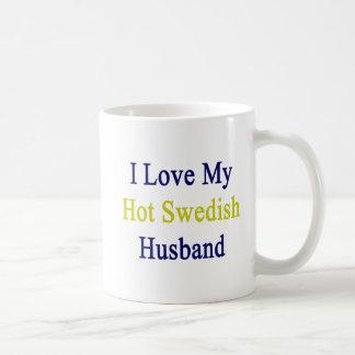 Caneca De Café Eu amo meu marido sueco quente