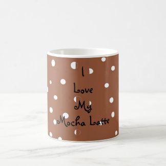 Caneca De Café Eu amo meu Mocha Latte