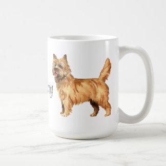 Caneca De Café Eu amo meu monte de pedras Terrier