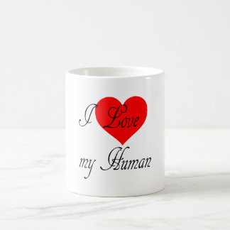 Caneca De Café Eu amo meu ser humano