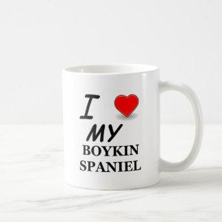 Caneca De Café Eu amo meu Spaniel de Boykin