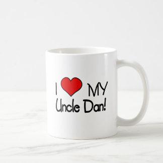 Caneca De Café Eu amo meu tio Dan!
