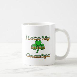 Caneca De Café Eu amo meu vovô irlandês
