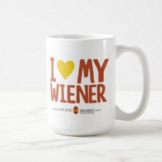 Caneca De Café Eu amo meu Wiener
