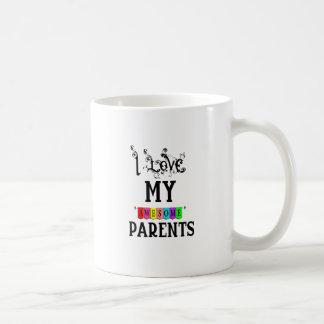 Caneca De Café Eu amo meus pais impressionantes (1)