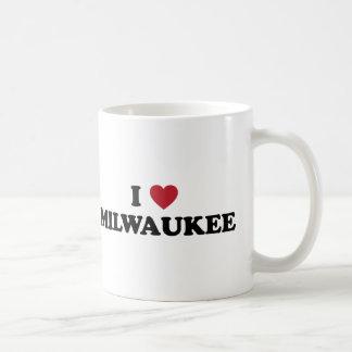 Caneca De Café Eu amo Milwaukee Wisconsin