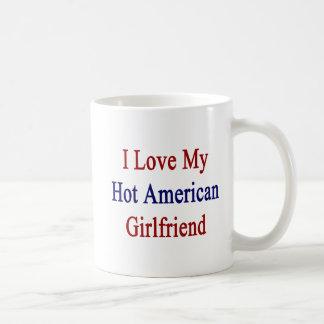 Caneca De Café Eu amo minha amiga americana quente