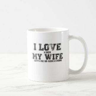 Caneca De Café Eu amo minha esposa!