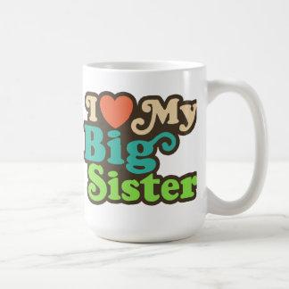 Caneca De Café Eu amo minha irmã mais velha