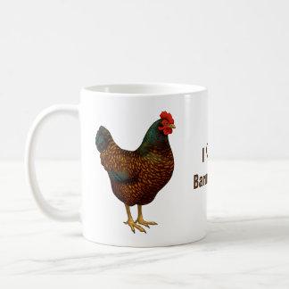 Caneca De Café Eu amo minhas galinhas de Barnevelder