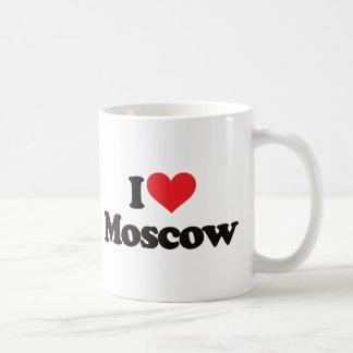 Caneca De Café Eu amo Moscovo