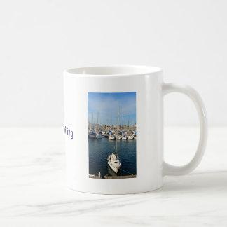 Caneca De Café Eu amo navegar