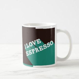 Caneca De Café Eu amo o café