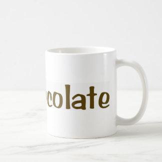 Caneca De Café Eu amo o chocolate