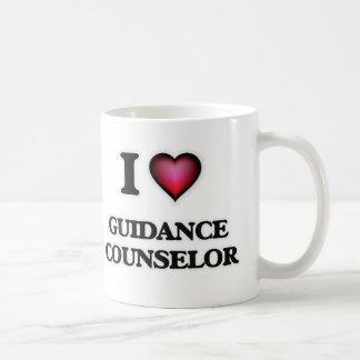 Caneca De Café Eu amo o conselheiro da orientação
