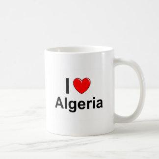 Caneca De Café Eu amo o coração Argélia