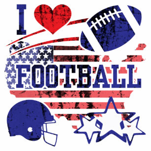 cd9919b250 Caneca De Café Eu amo o futebol (o futebol americano)