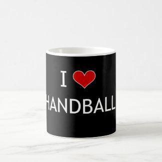 Caneca De Café Eu amo o handball