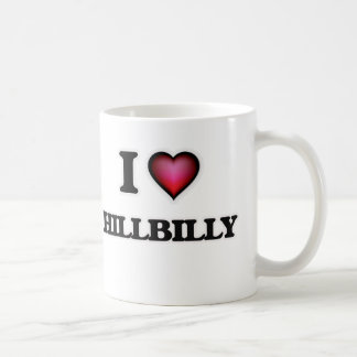 Caneca De Café Eu amo o Hillbilly