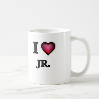 Caneca De Café Eu amo o Jr.