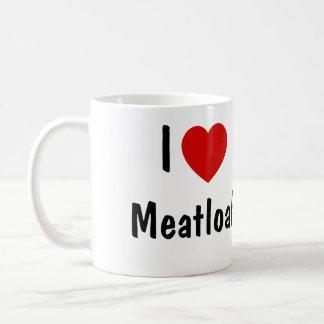 Caneca De Café Eu amo o Meatloaf