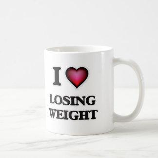 Caneca De Café Eu amo peso perdedor
