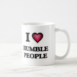 Caneca De Café Eu amo pessoas humildes