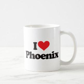 Caneca De Café Eu amo Phoenix