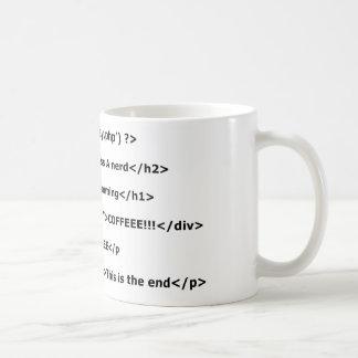 Caneca De Café Eu amo programar