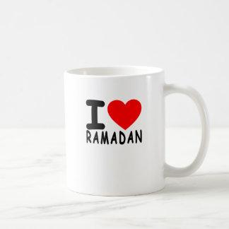 Caneca De Café Eu amo Ramadan.