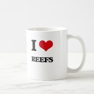 Caneca De Café Eu amo recifes