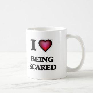 Caneca De Café Eu amo Scared