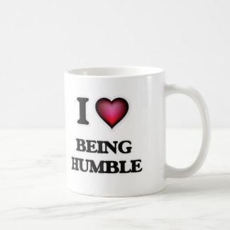 Caneca De Café Eu amo ser humilde