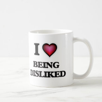 Caneca De Café Eu amo ser não gostado