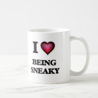 Caneca De Café Eu amo ser Sneaky