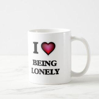 Caneca De Café Eu amo ser só