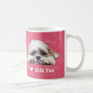 Caneca De Café Eu amo Shih Tzu