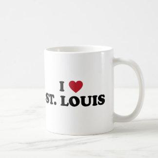 Caneca De Café Eu amo St Louis Missouri