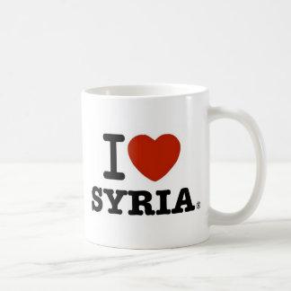 Caneca De Café Eu amo Syria