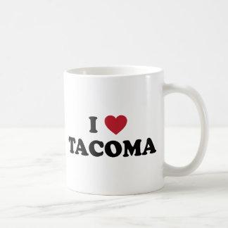 Caneca De Café Eu amo Tacoma Washington