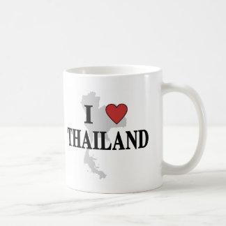 Caneca De Café Eu amo Tailândia