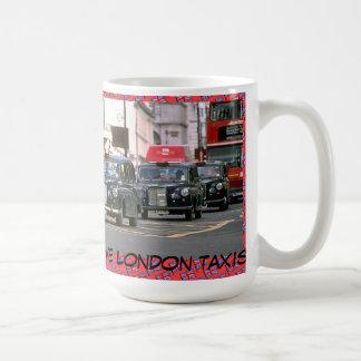 Caneca De Café Eu amo táxis de Londres