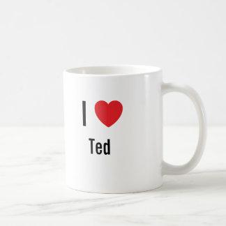 Caneca De Café Eu amo Ted