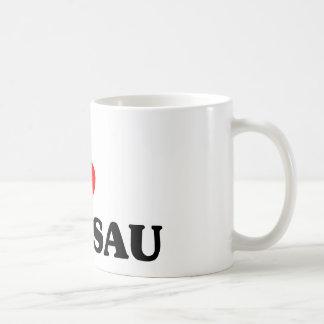 Caneca De Café Eu amo Wausau