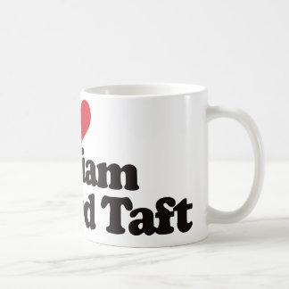 Caneca De Café Eu amo William Howard Taft