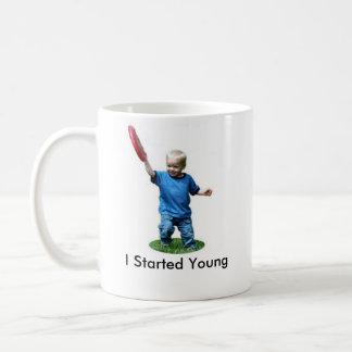 Caneca De Café Eu comecei jovens