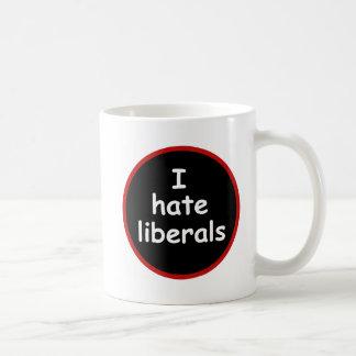 Caneca De Café Eu deio liberais