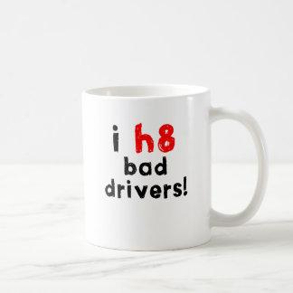 Caneca De Café Eu deio motoristas maus