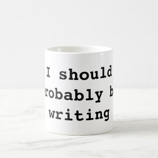 Caneca De Café Eu devo provavelmente ser escrita