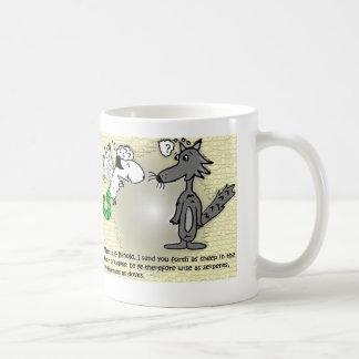 Caneca De Café Eu envio o seu adiante enquanto os carneiros